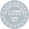 Silver The Scotch Whisky Masters 2017  (The Spirits Business) Batch 2