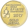 Gold San Francisco World Spirits Competition 2017  Batch 5