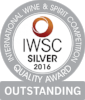 Silver Outstanding International Wine & Spirits Competition 2016  Batch 3