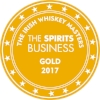 Gold Irish Whiskey Masters 2017 (The Spirits Business)  Batch 1