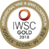 Gold International Wine & Spirits Competition 2018  Batch 1