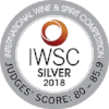 Silver International Wine & Spirits Competition 2018  Batch 3