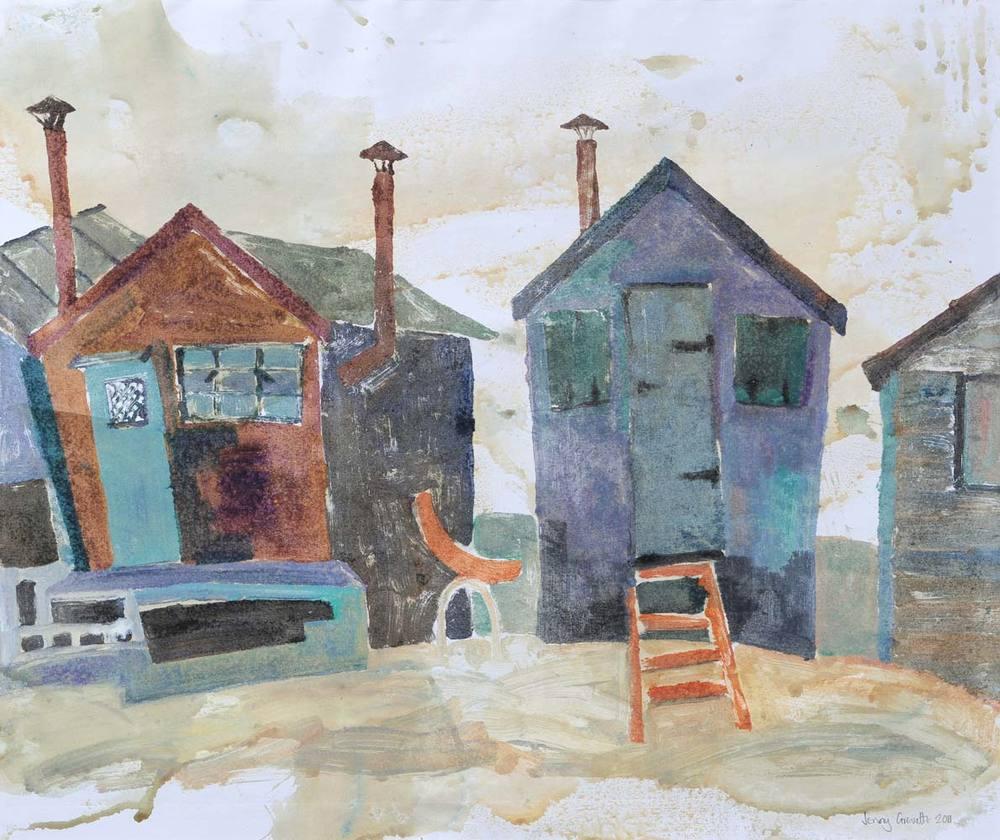 Black huts