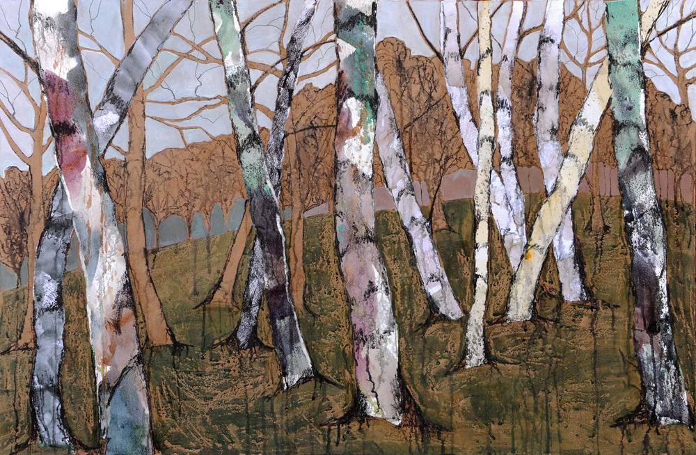 Moving through the birches