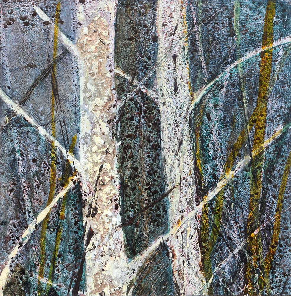 Study of young birches