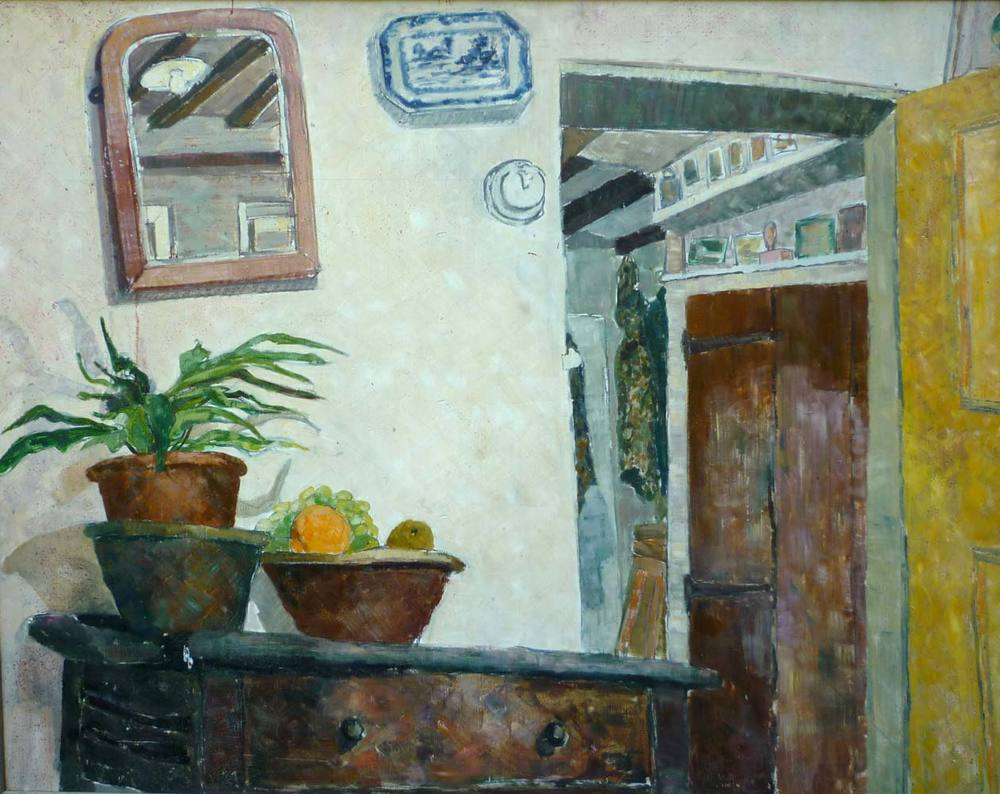The cottage interior
