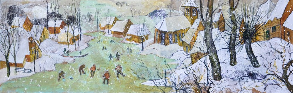 "Homage to Bruegel's ""Skaters"""