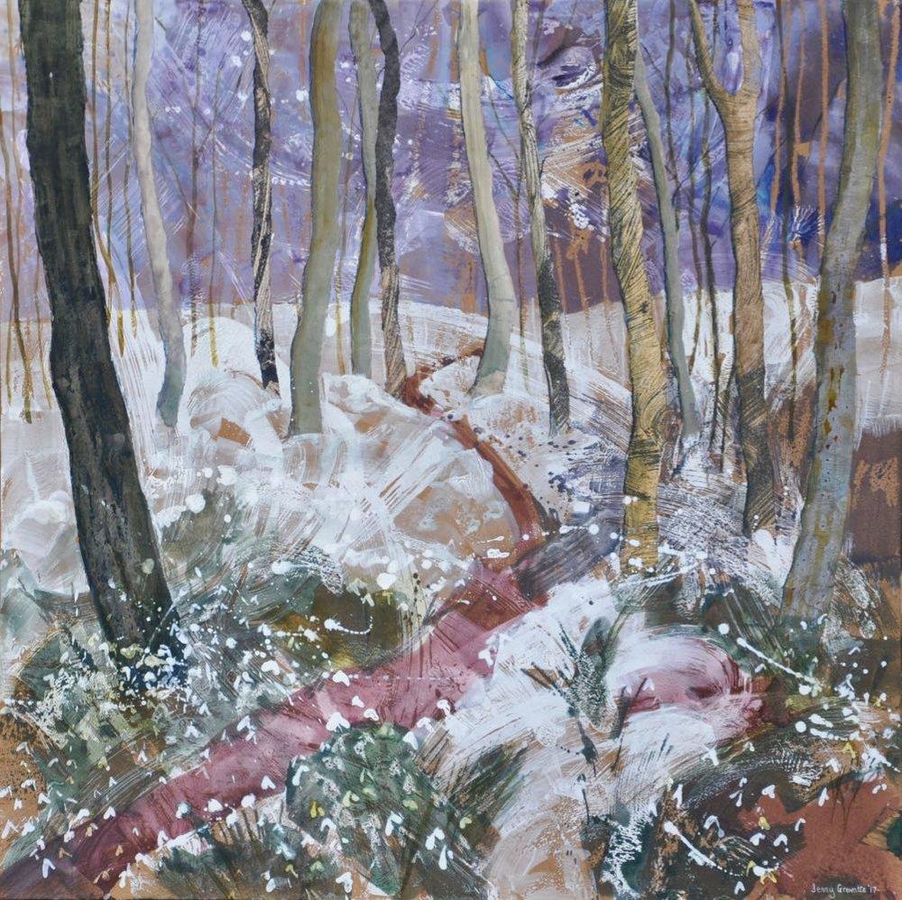 """""""Path through the snowdrops"""""""