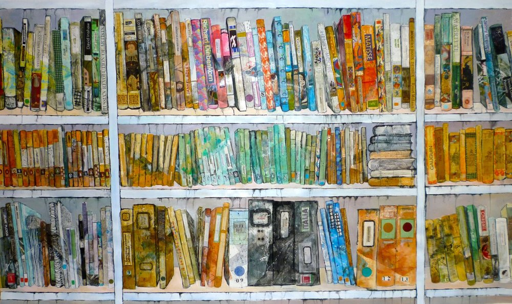 Fantasy library 1