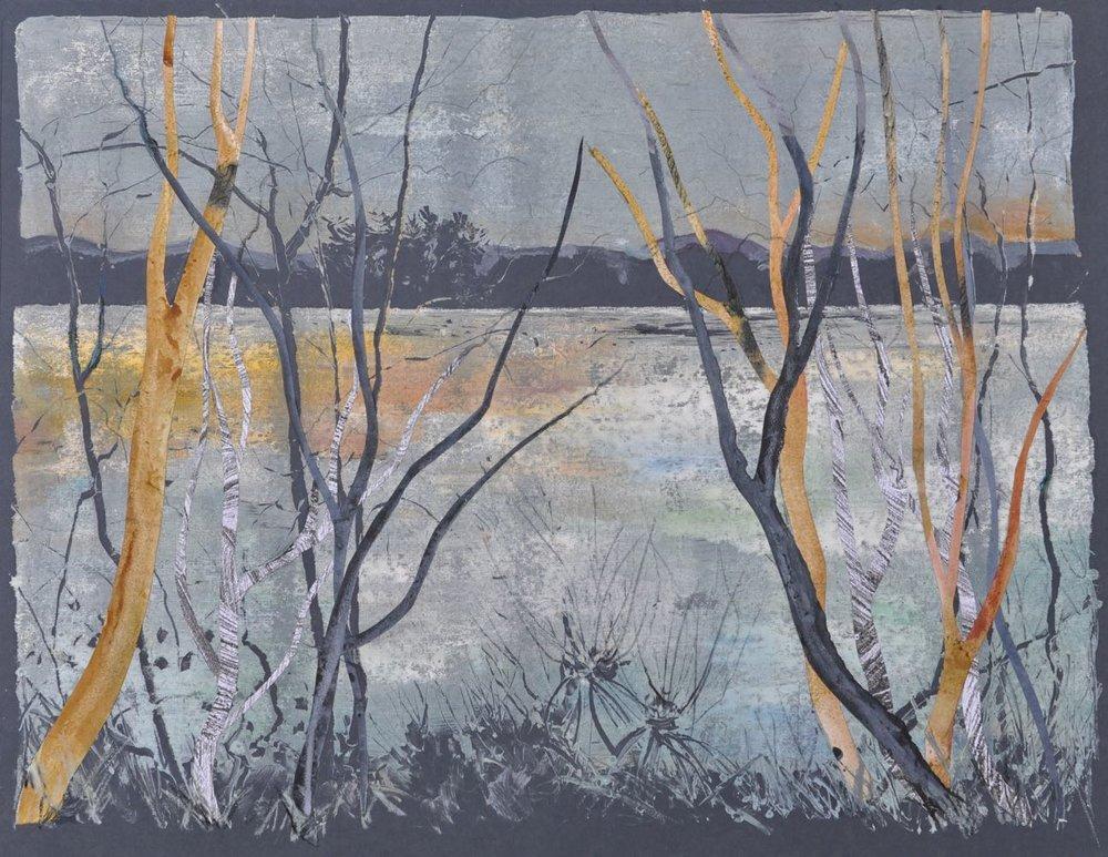 Swithland Reservoir , late evening