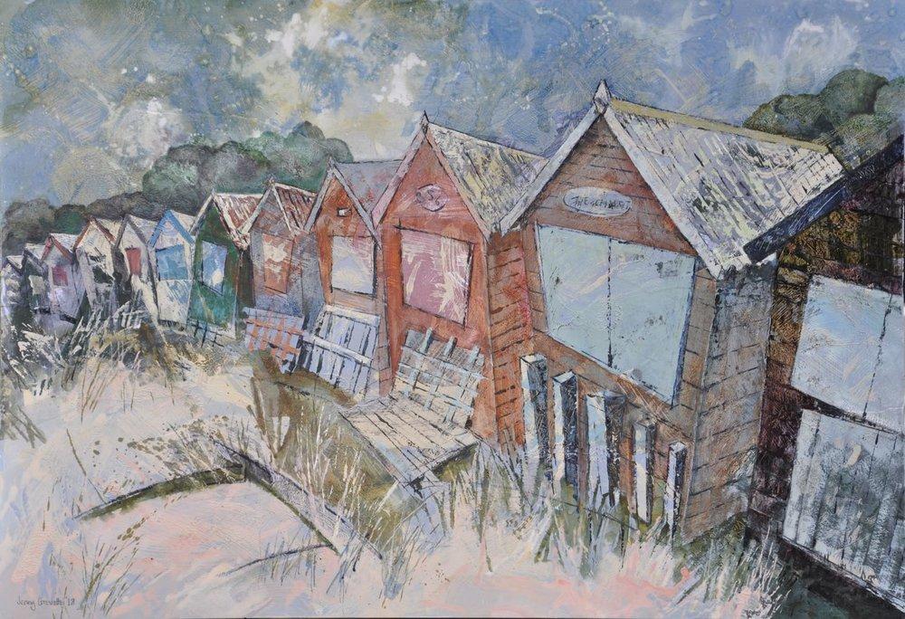 Beach huts , Studland