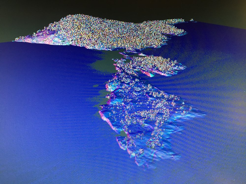 playing with LIDAR data