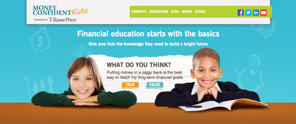 JA and T. Rowe Price present Money Confident Kids™