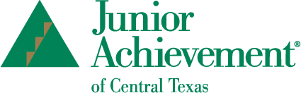 Junior Achievement of Central Texas Green/Gold Logo