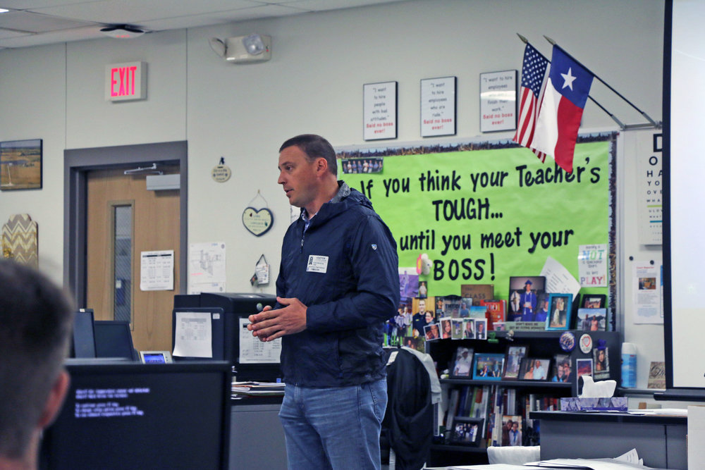 Bob McGivney at Hendrickson High School