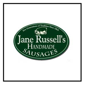 JANE RUSSELL'S SAUSAGES