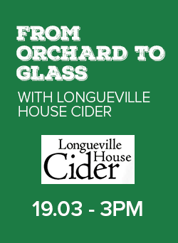 from orchard to glass with longueville house cider saturday march 19th 3pm