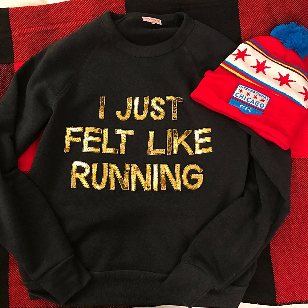 My sweatshirt was made on www.bowanddrape.com