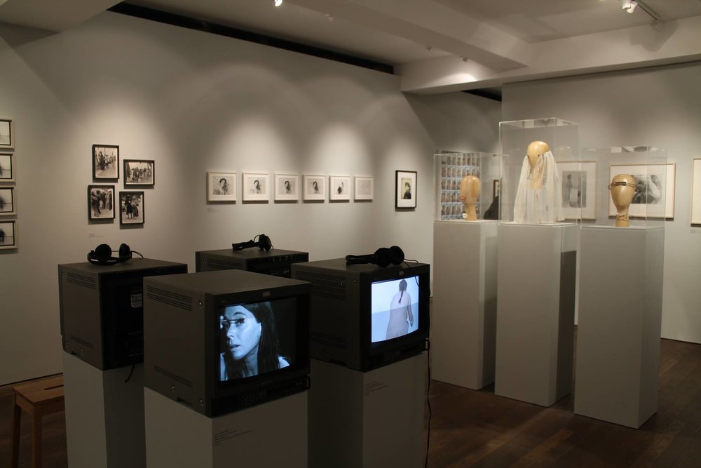 The exhibition displayed a wide range of media