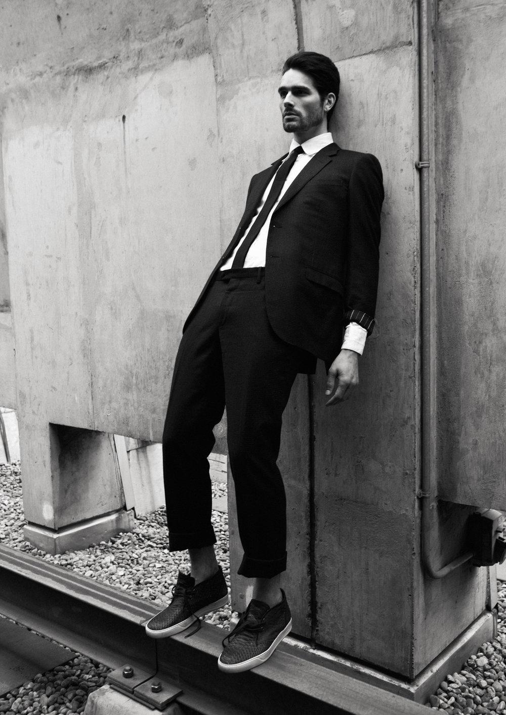 Suit  Lanvin , Shirt  Marchand Drapier , Shoes  Lanvin , Tie  Marni