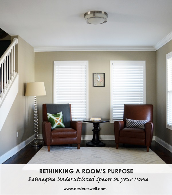 New Purposes for Underutilized Rooms in the Home