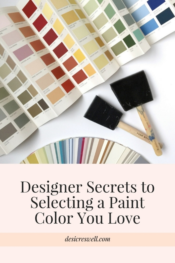 Designer Tips Paint Color Selection
