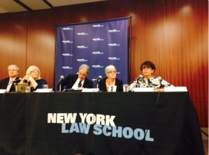 "Executive Director Laurie Parise is among the panelists at ""A Bold Step for New York's Children: A Symposium for Raising the Age of Criminal Responsibility."""