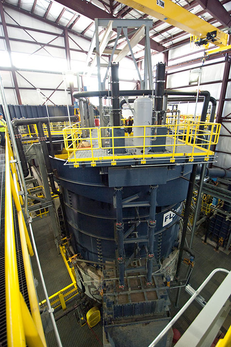 The first 600 Series SuperCell™ flotation machine is installed at KGHM's Robinson copper-molybdenum mine in Ely, Nevada.
