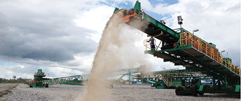 World-class heap leach stacking system supplied to the mineral-rich Zambian copper belt