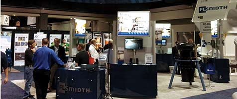 FLSmidth booth at Coal Prep 2013