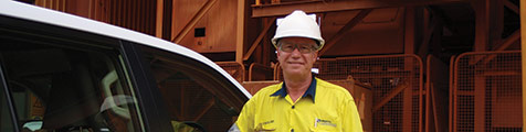 Tony Buckland, FLSmidth Ludowici Senior Sales Engineer