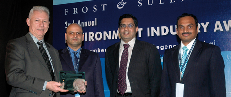 The Frost & Sullivan Best Practices Award recognises outstanding industry achievements