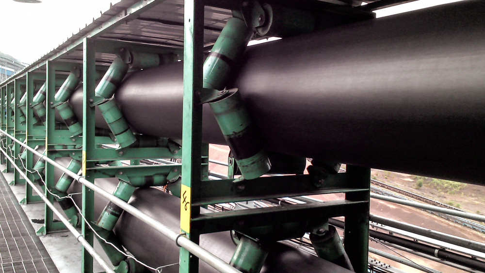 FLsmidth's KOCH pipe conveyor® installed in Goa, India