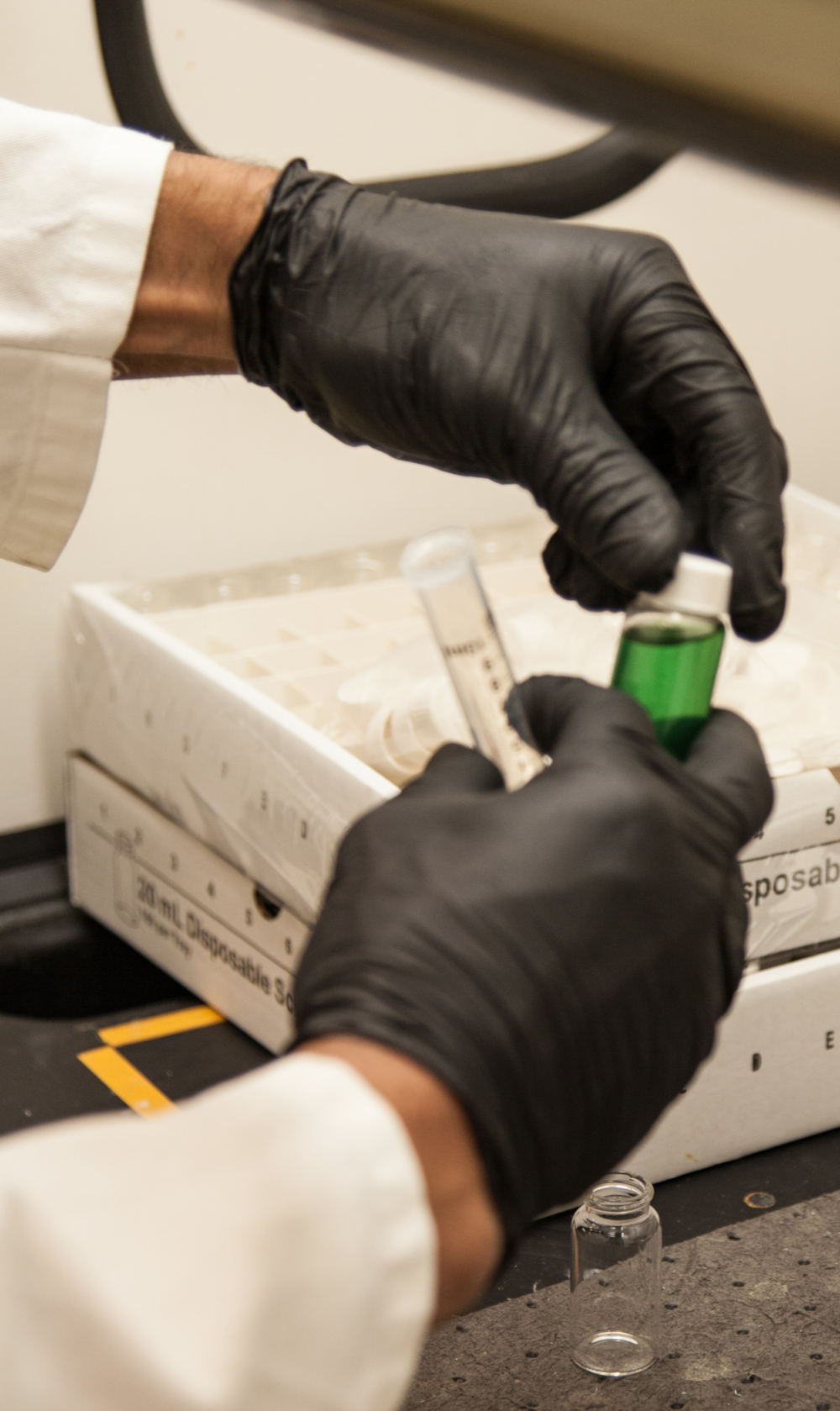 Analyzing samples from ROL process