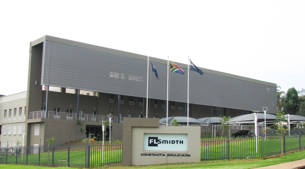 FLSmidth offices located in Johannesburg, South Africa