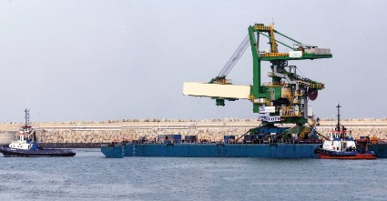 TRANSPORT OF AN FLSMIDTH SHIPLOADER TO ITS FINAL LOCATION