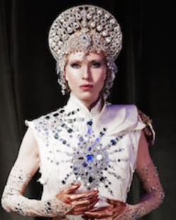 Katherine Crockett, performer, The Queen. Queen of the Night