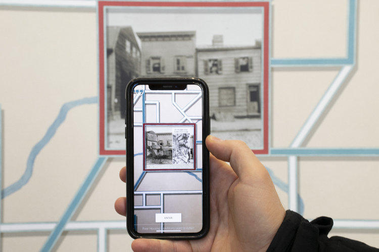 Interactive Wallpaper App for the Philadelphia City Archive