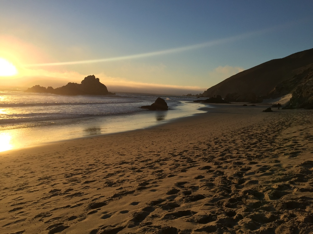 Pfeiffer Beach, CA October 31st, 2015