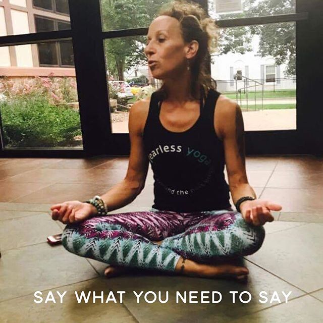 "Even if your hands are shaking And your faith is broken Even as the eyes are closing Do it with a heart wide open -""Say"" John Mayer  Caught doing what I am meant to do...teach.  #yoga #yogaguide #yogateacher #yogatribe #saywhatyouneedtosay #fearlessyoga #yogi #yogini #fearlessyogis #dharma #tapas #sutra #johnmayer #whyiteach #chooseyoga #mypassion"
