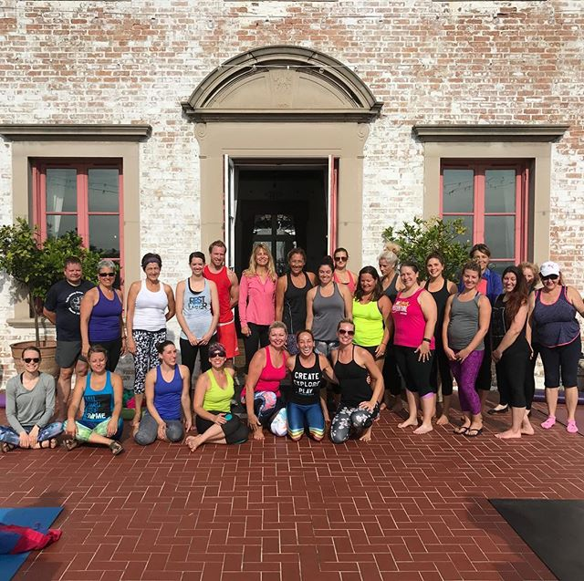 Sometimes I have to pinch myself because I can't believe that it's real...the joy I get from teaching yoga blows me away!  Thank you all for coming out to @villaterracemuseum For a little yoga, a few swear words, and some laughs! #yoga #yogaeverydamnday #yogateacher #yogapractice #yogainspiration #lovewhatido #honored #blessed #cantbelievethisismylife #yogaontheterrace #villaterrace #mkeyoga #mke #mkemycity #exploremke #mkelakefront #mketribe