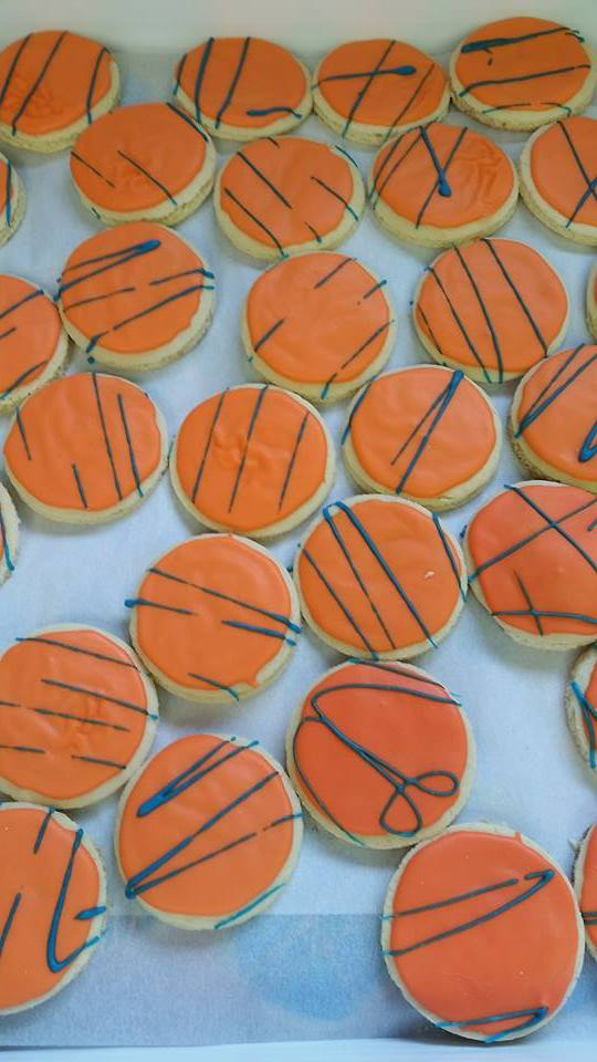 Harbor House Sweets cookies for Northland College Stadium Dedication Party