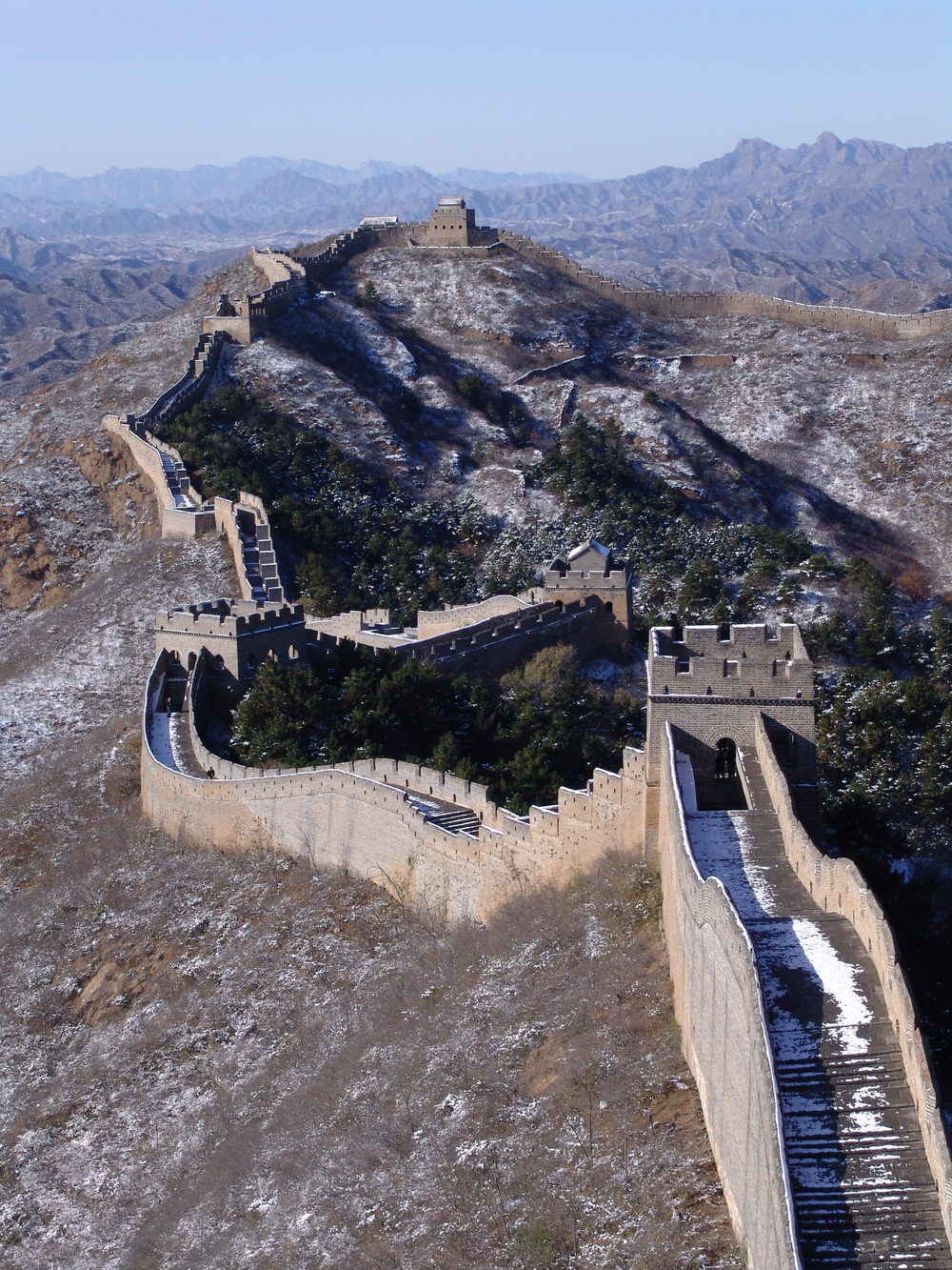 The Jinshanling section of the Great Wall