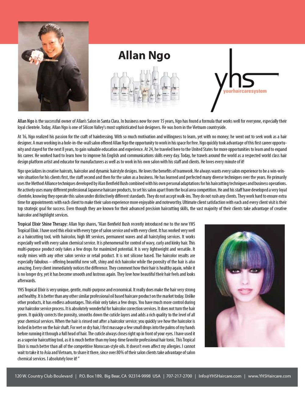 Alan Ngo Testimonial – YHS Haircare