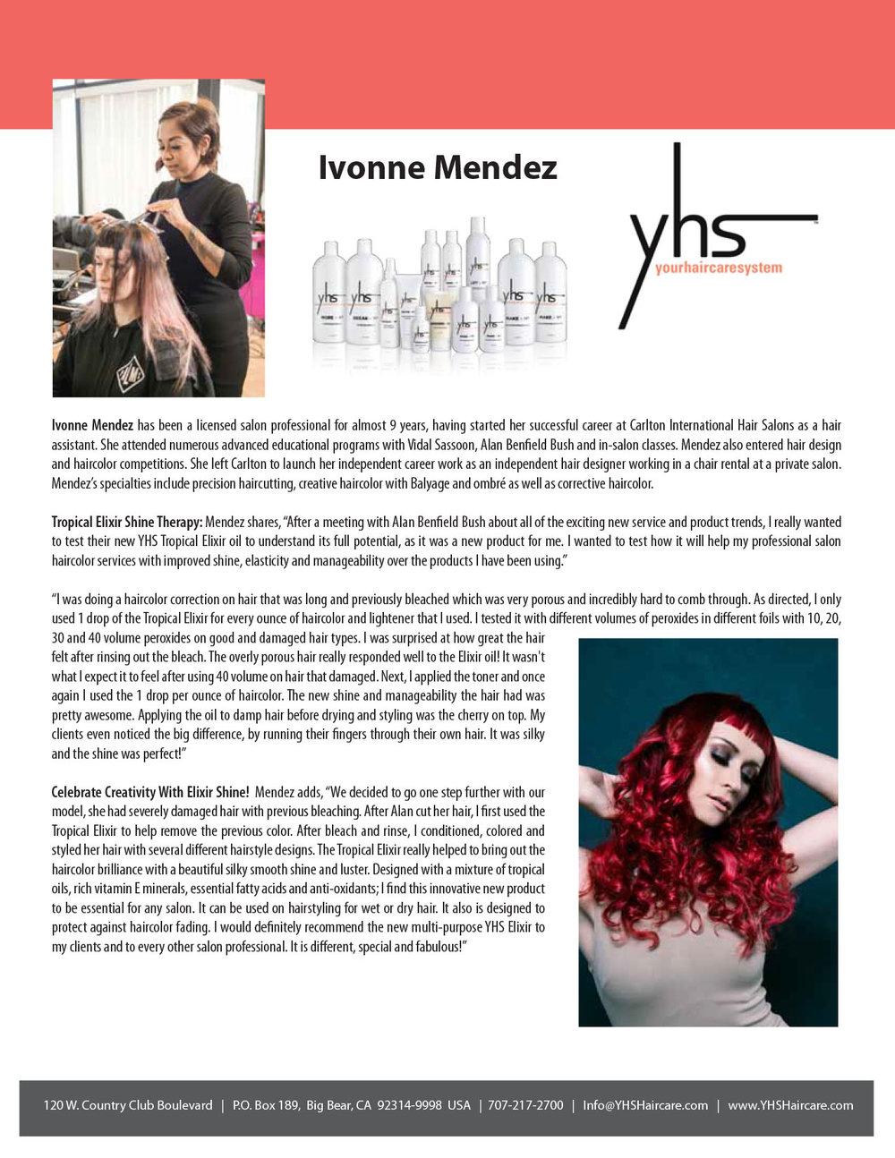 Ivonne Mendez Testimonial – YHS Haircare