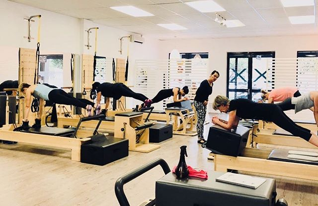 Planking through hump day with modifications as needed! All bodies are different! Let's celebrate different & the fact that we are halfway through the week 🎉🎉. . 📷 @nwlennon . . . . . . #flexpilatessa #flexpilates #pilates #reformerpilates #pilatesteacher #pilatesreformer #pilatesinstructor #fitness #health #wellness #doitforyourcore #doitforyou #wednesday #humpdayfunday