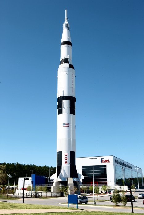 360' Full-scale Saturn V, Rocket Replica - US Space & Rocket Center Huntsville, AL