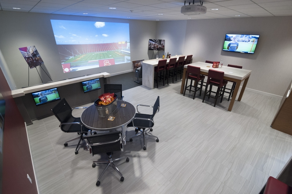 USC Premium Suite Mock-Up Room