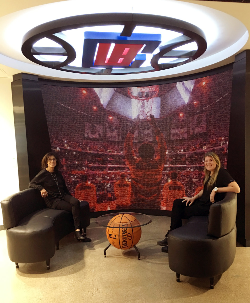 LA Clippers Corporate Office Lobby