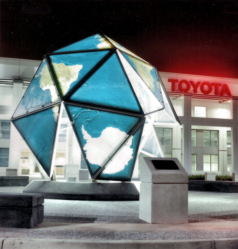 Geodesic Dome, Toyota Corporate Office